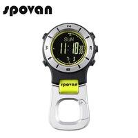 SPOVAN Brand Sports Watches For Men Women Pocket Watch Waterproof LED Backlight Clock Elementum2nb