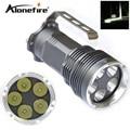 Фонарик AloneFire 5T6 5xcree XM-L T6  светодиодный фонарик 18650  ручной фонарь для кемпинга  лампа H5