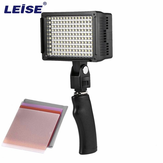 Leise professional led video light 150 led 9w 900lm brightness leise professional led video light 150 led 9w 900lm brightness adjustable for video shooting studio workwithnaturefo