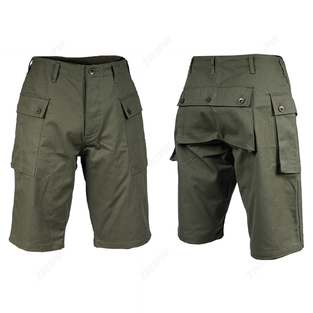 WW2 Vietnam War U.S. P44 Short Pants Paratrooper Uniform War Reenactments