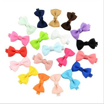 2019 NEW 20Pcs /lot Baby Flower Bows headband hairband Hairpin hair Clip Kids Child Girls Accessories Wholesale