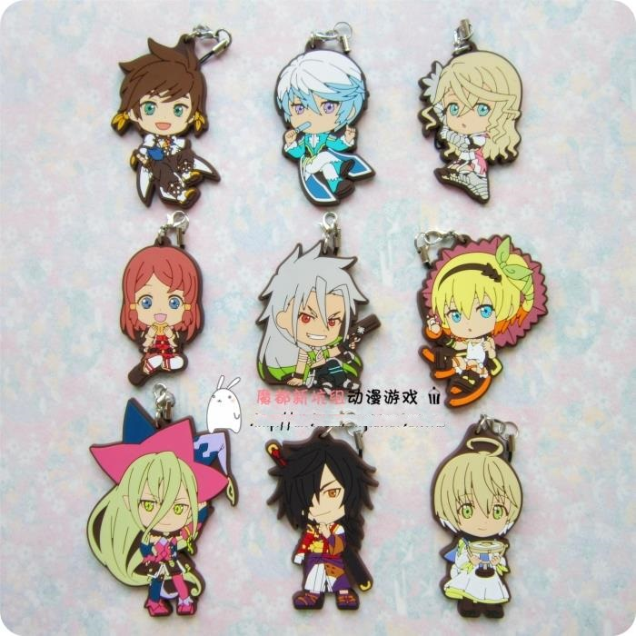 Sorey Anime Tales of Zestiria Japanese Rubber Keychain tales of symphonia unisonant pack japanese version [playstation 3]
