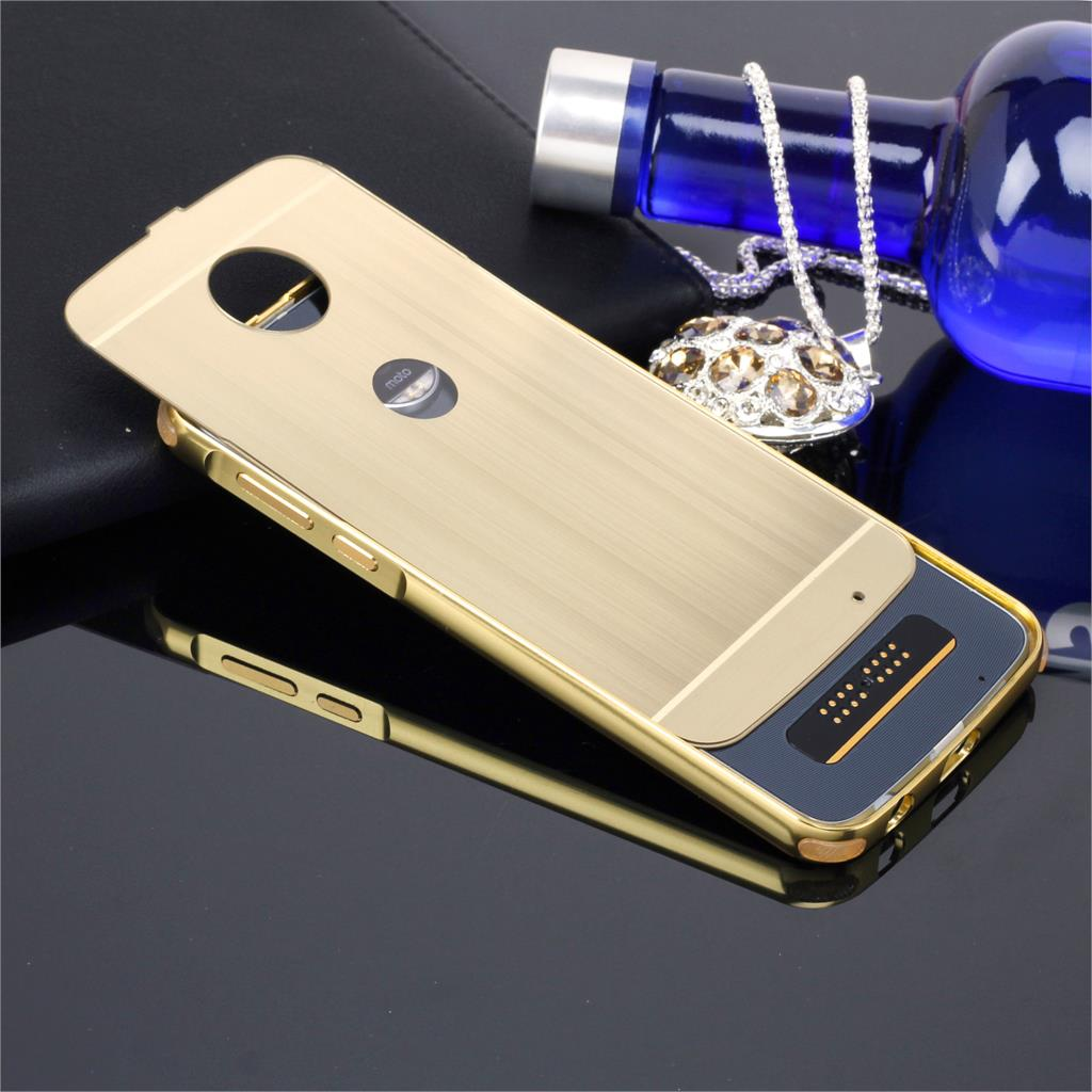 release date 6ffeb 49bea US $9.12 14% OFF|For Motorola Moto G5 / G5 Plus Case Luxury Metal Frame PC  Brushed Backpanel Silicone Corner Pad Protective Cover Phone Shell-in ...