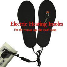 Super warm boots Electric heating insoles winter remote control for shoes woman and men shoes Free shipping1800MA