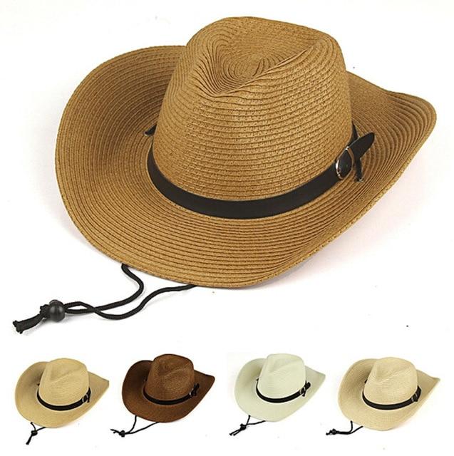 Modelos entre padres e hijos beb sombreros para hombres mujeres en verano  playa viajes sombrero jpg d3be6ce43bc