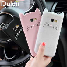 DULCII for Samsung Note 8 Case for Samsung Galaxy A5 2017 3D Cat Silicone Soft Back Phone Cover for Samsung A5 A3 2016 Shells