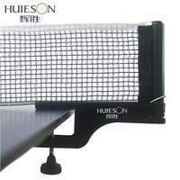 Huieson Padrão Profissional Kit Conjunto de Rack Mesa de Ping Pong Ténis De Mesa Net Net Acessórios De Ténis De Mesa do Tipo Parafuso