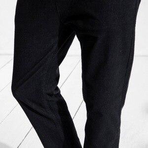 Image 5 - سيموود جينز رجالي جديد موضة ربيع 2020 ضيق غير رسمي بطول الكاحل سراويل دينم سراويل ماركة ملابس حجم كبير 180400