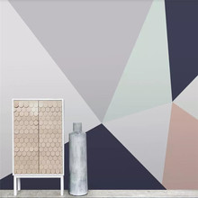 Custom 3d wallpaper fashion line graphic modern background wall specializing in the production of large murals
