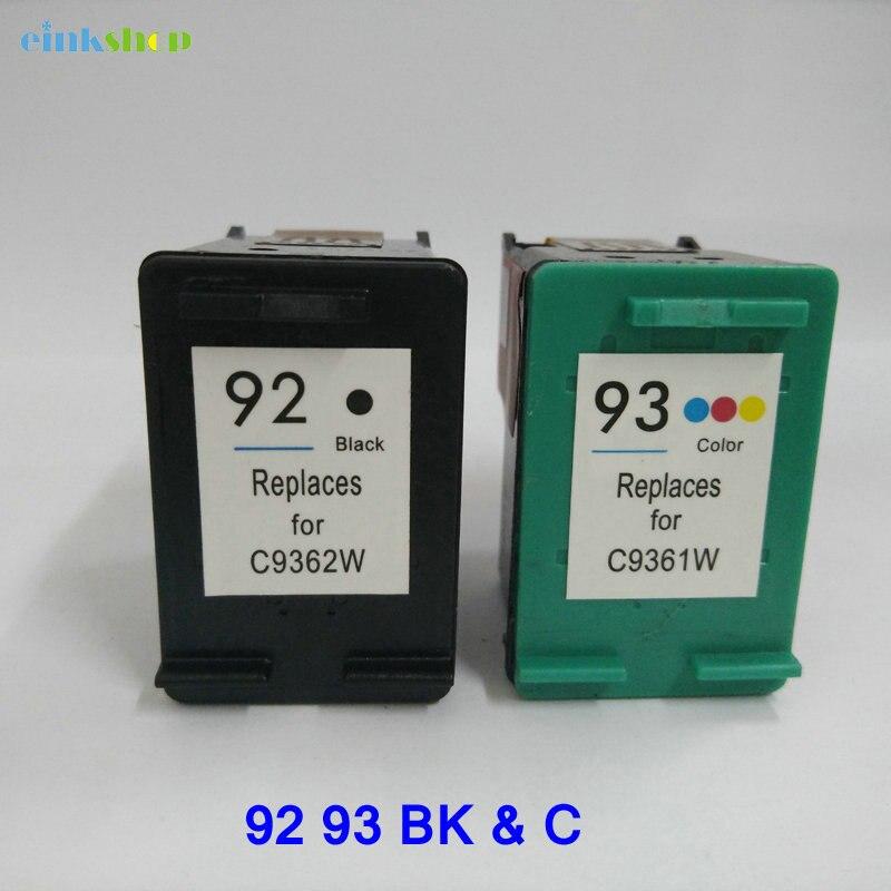 Einkshop compatibele vervanging van de cartridge voor hp 92 93 voor - Office-elektronica