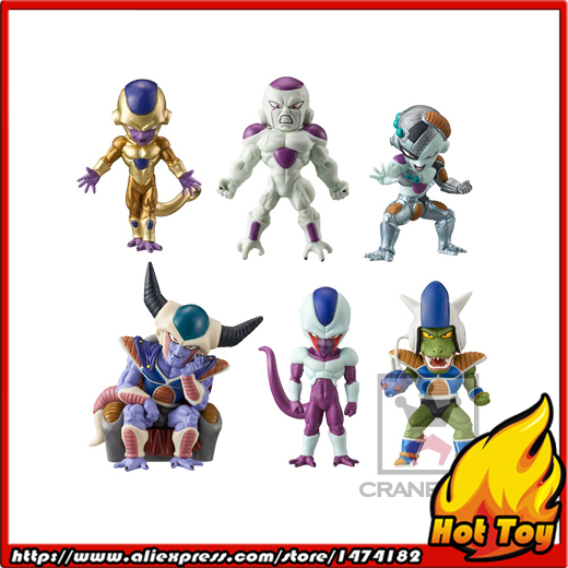 100% Original Banpresto WCF Complete Collection Figure FREEZA SPECIAL Vol.2 - Full Set of 6 Pieces from Dragon Ball SUPER original banpresto world collectable figure wcf the historical characters vol 3 full set of 6 pieces from dragon ball z
