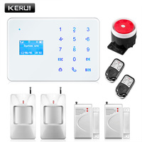 Kerui android ios app remote control gsm alarm system home security russian spanish french english voice.jpg 200x200