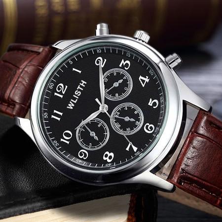 WLISTH Watch Men Clock 2017 Top Brand Luxury Wrist Watches Men s Wristwatch Male Casual Quartz