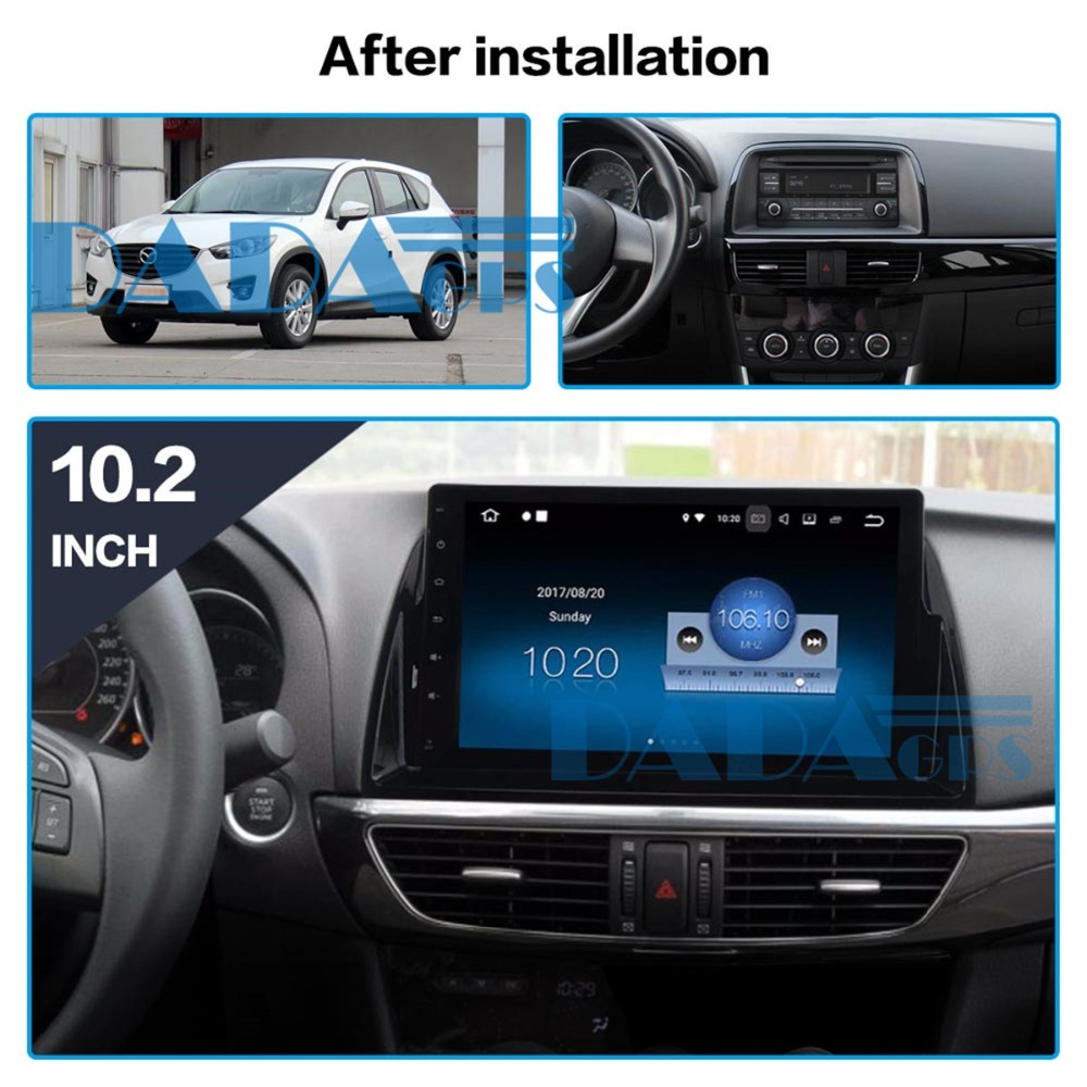 10 2 Car GPS Radio Player for Mazda CX5 CX 5 2013 2014 2015 with Octa