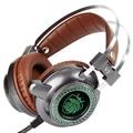 Luminous Gaming Headset Jogo headphone com microfone led com cancelamento de ruído fone de ouvido Com Fio fones de ouvido para computador pc 3.5mm USB