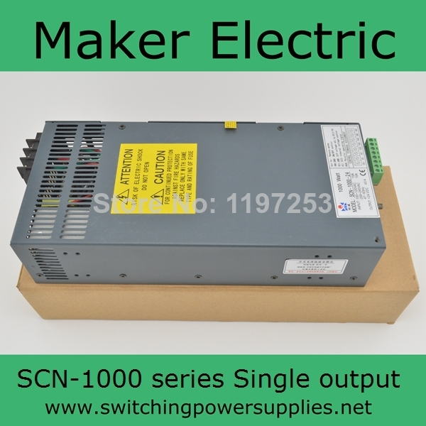 1000W 48V 20A Single Output Switching power supply for LED Strip light AC-DC SCN-1000-48 48v 20a switching power supply scn 1000w 110 220vac scn single output input for cnc cctv led light scn 1000w 48v