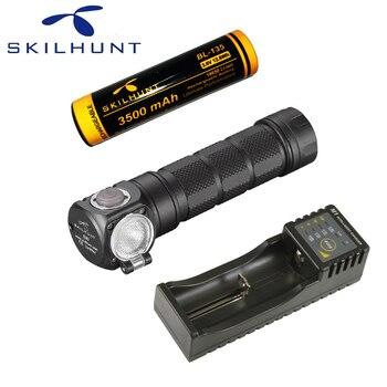 NEW Skilhunt H03F Led Headlamp Lampe Frontale Cree XML1200Lm HeadLamp Hunting Fishing Camping Headlight+Headband