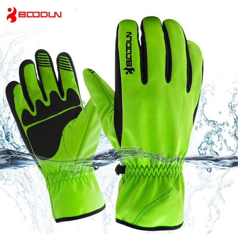 Boodun Waterproof Ski Gloves Men Women Warm Skiing Snowboard Gloves Snowmobile Motorcycle Riding Winter Outdoor Snow Gloves