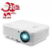 CAIWEI Ondersteuning 1080 p Full HD Thuisbioscoop LED Projector LCD Projectie Movie Film Meeting Digitale Beamer HDMI VGA USB AV