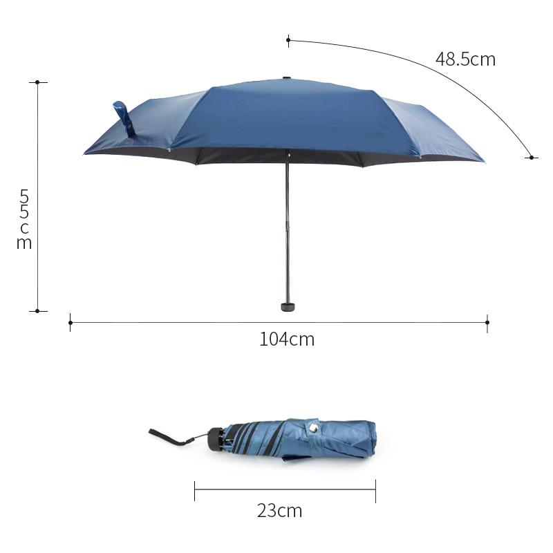 női esernyő esernyő összecsukható fekete vízálló TTK márka - Háztartási árucikkek - Fénykép 2