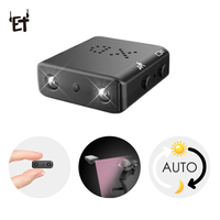 ET XD IR CUT Mini Camera Smallest HD 1080P Camcorder Infrared Night Vision Micro Cam Motion Detection DV Support TF camera