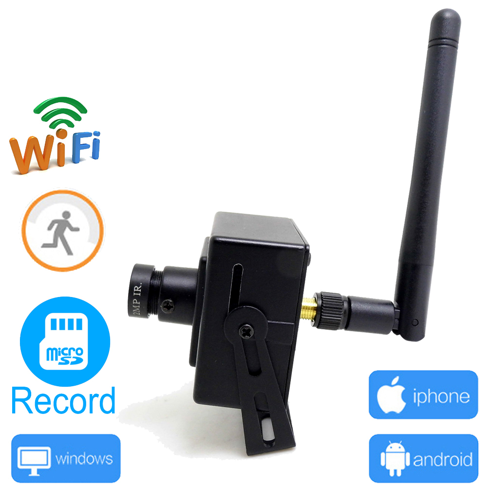 IP camera wifi 720p mini securitate wireless cctv wi-fi supraveghere - Securitate și protecție - Fotografie 1