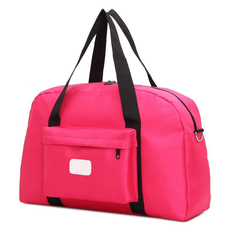 2018 New Gym Bag Sports Bag Waterproof Outdoor Travel Handbag Candy Color Sports Fitness ...