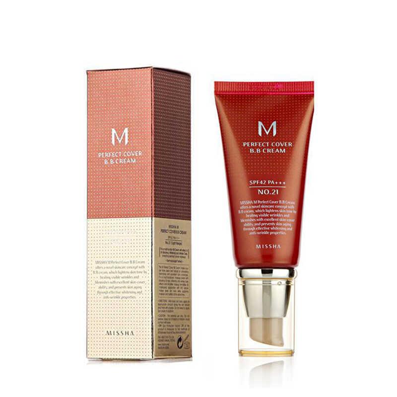 Bb crème maquillage hydratant fond de teint blanchissant correcteur crème naturel parfait couverture visage beauté cosmétique 2 couleurs