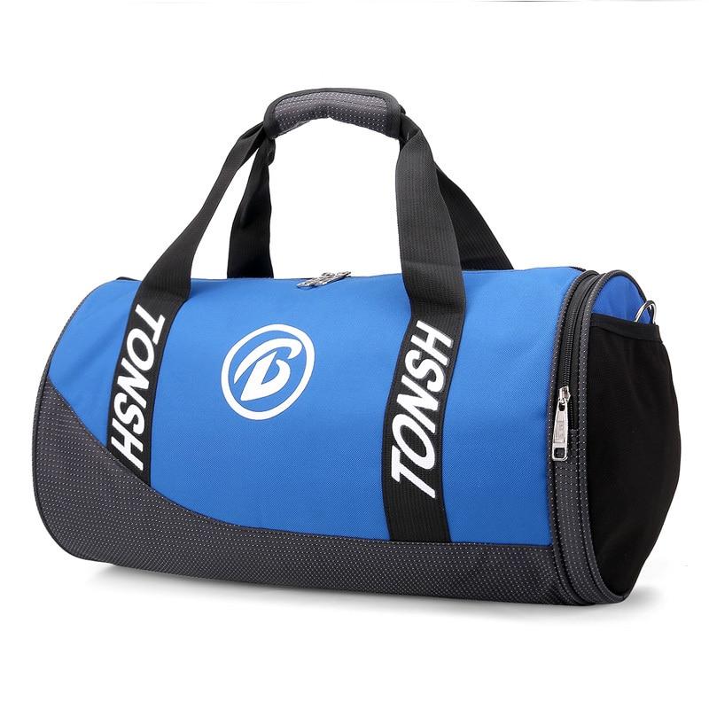 ✔  Водонепроницаемый спортивный тренажерный зал сумка женщины мужчины фитнес йога дорожная сумка с обув ★
