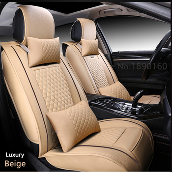 (Front + Rear) Special Leather car seat covers For Chery Ai Ruize A3 Tiggo X1 QQ A5 E3 V5 QQ3 QQ6 QQme A5 BSG E5 auto accessorie