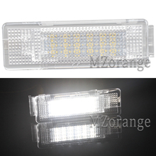 цена на 18 SMD LED Car Number License Plate Light Lamps For VW Golf 4 5 6 Polo Jetta Passat Tiguan Caddy &For Seat Altea Cordoba