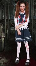 Scarey School font b cosplay b font Costume for font b women b font Halloween fantasia
