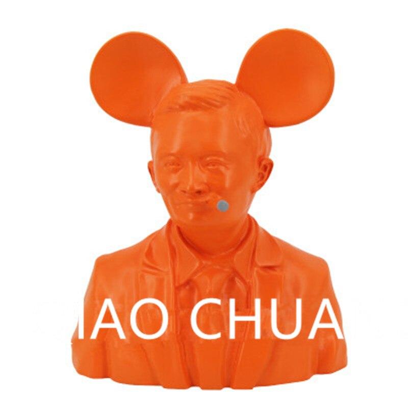 5 Colour Creative Jack Ma Head Portraits Statue KAWS Medicom Toy Action Figure Model Giocattolo G1223