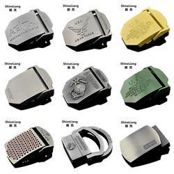 Для мужчин Тактический пряжка на ремешке сплава Применение военных холст тела Ширина 3,8 см Высокое качество дизайнеры бренда молодежи
