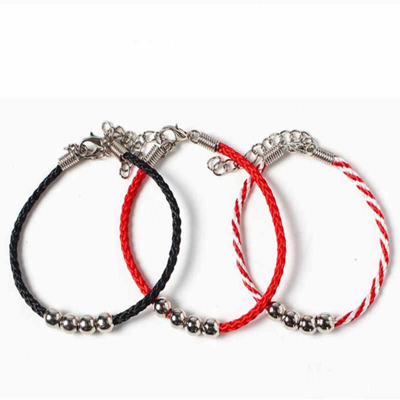 3 colours fashion hand-woven bracelet red rope bracelet cute bracelets for girls famele lovely gift free shipping