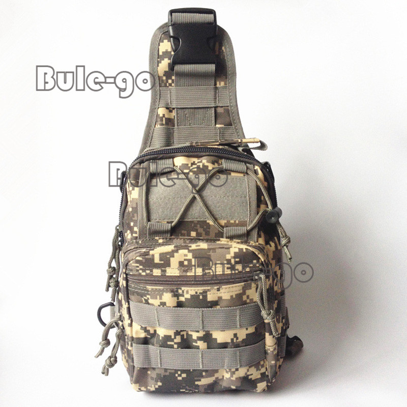Sports & Entertainment Reliable Military Tactical Nylon Chest Bag Camping Men Equipment Outdoors Wading Chest Pack Cross Body Sling Single Shoulder Bags 50% OFF