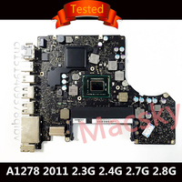 Tested A1278 Motherboard for Macbook Pro 13 2011 Logic Board Laptop i5 2.3GHz 2.4GHz i7 2.7GHz 2.8GHz 820 2936 A 820 2936 B