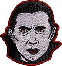Count Dracula Patches halloween Embroidered Iron on Badge Applique Horror Movie Souvenir Vampire Monster Munsters Bela Lugosi(China)