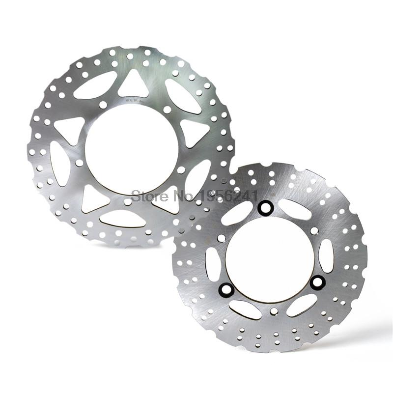Motorcycle Front Rear Brake Disc Rotor for Kawasaki Ninja 250/Z250 SL Z300 15-up mfs motor motorcycle part front rear brake discs rotor for yamaha yzf r6 2003 2004 2005 yzfr6 03 04 05 gold