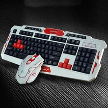 2017 New Wireless Waterproof Multimedia Gaming Computer Keyboard Mouse Mice Combos Game Chips Special For Computer