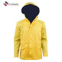 Dark Cosplay Costume Jonas Kahnwald Coat Yellow Jacket CosDaddy