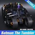 Lele 34005 decool 7111 super heroes batman el vaso bela bloques ladrillos regalo de año nuevo juguetes para niños compatibles 76023