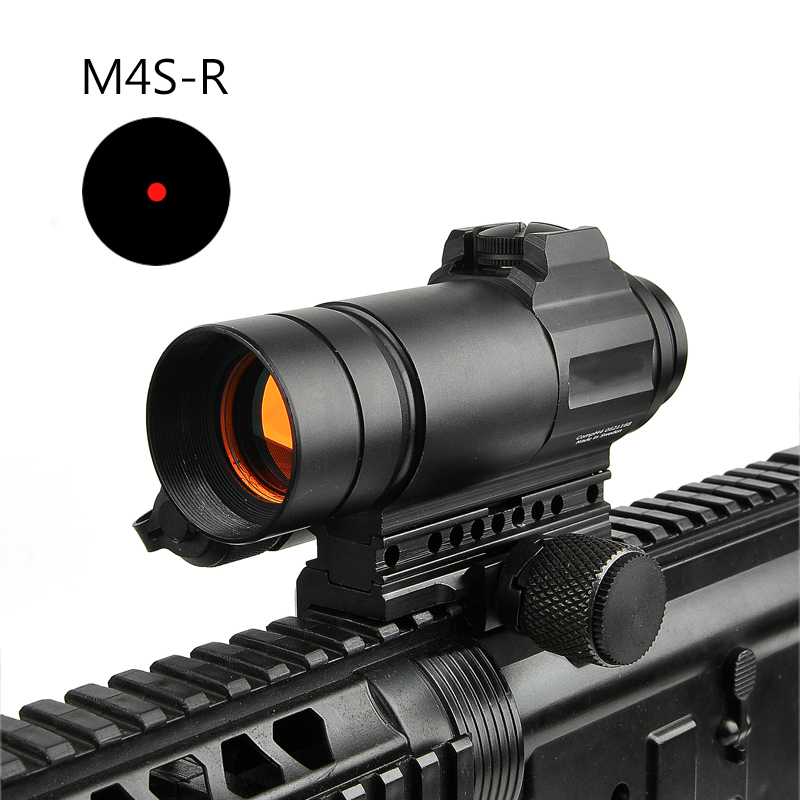 M4 Red Dot Sight Combination Sight For 20mm Rail AR AK Gun Scope Outdoors Hunting Scope Hunting Optics Rifle Airsoft