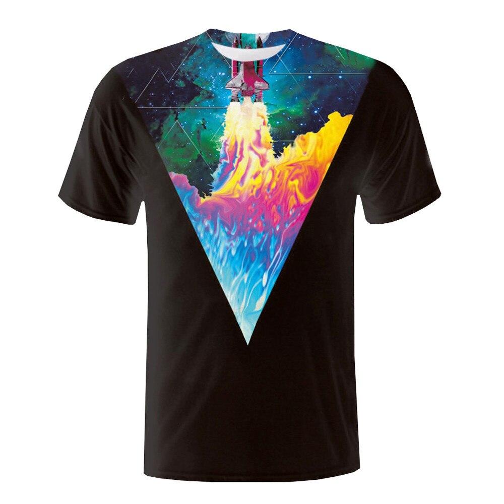 a085c269dc3 Мужские граффити 3D печать футболки рубашка с коротким рукавом Футболка  Блузка Топы Jan30
