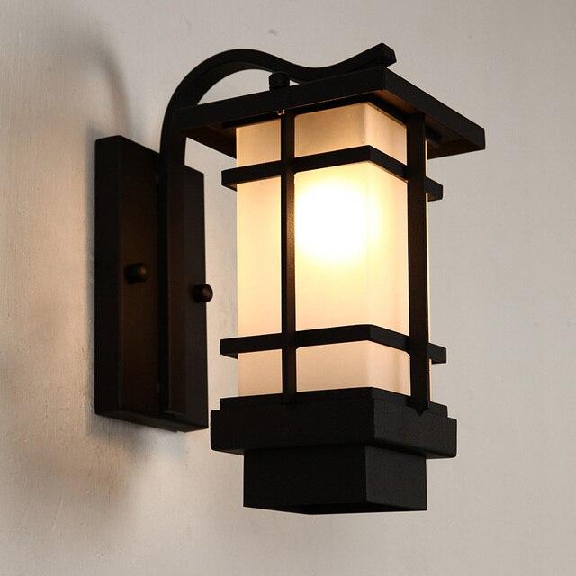 eclairage exterieur japonais