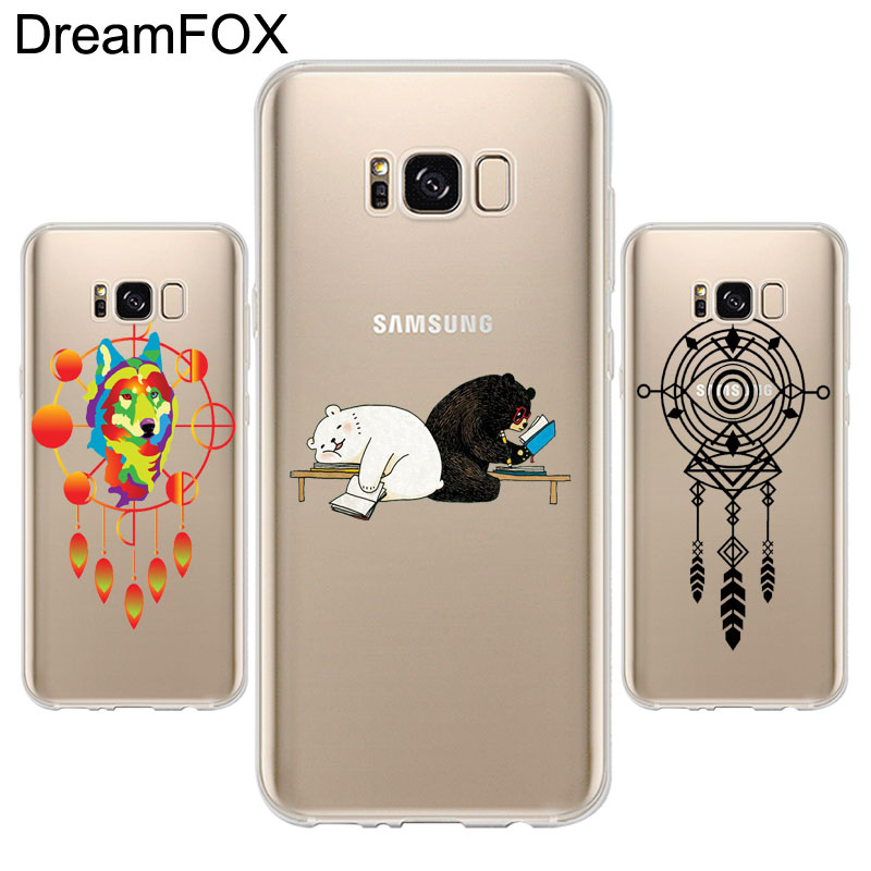 DREAM FOX K286 Dream Catcher Soft TPU Silicone Case Cover For Samsung Galaxy Note S 3 4  ...