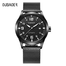 Reloj Male Automatic Mechanical Watch Men's Horology Stainless Steel Strap Watches Wristwatch Men Horloges Mannen
