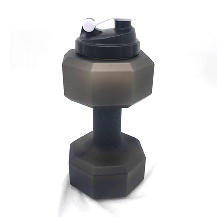 2.2L водная гантель чайник Большая пластиковая емкость Спортивная бутылка для улицы портативная Спортивная гантель транинг фитнес спортивное оборудование