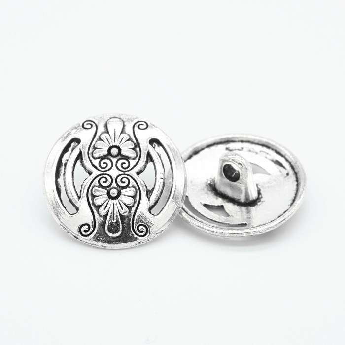 US $0.5 5% OFF|Buttons shank 18mm antique silvery carving for sweater coat shirt jacket handmade Gift Box  Craft DIY Sewing accessories Wh-in Buttons from Home & Garden on Aliexpress.com | Alibaba Group