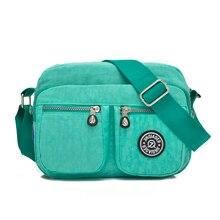Женские сумки 2017 новых женщин сумка Водонепроницаемый нейлоновый мешок bolsa feminina Посланник женщины сумка bolsos
